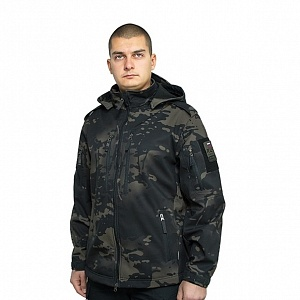 Куртка Mistral XPS 69-5 Softshell Multicam black